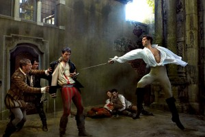 Coco Rocha and Roberto Bolle as Romeo & Juliet. By Annie Leibovitz for Vogue US.